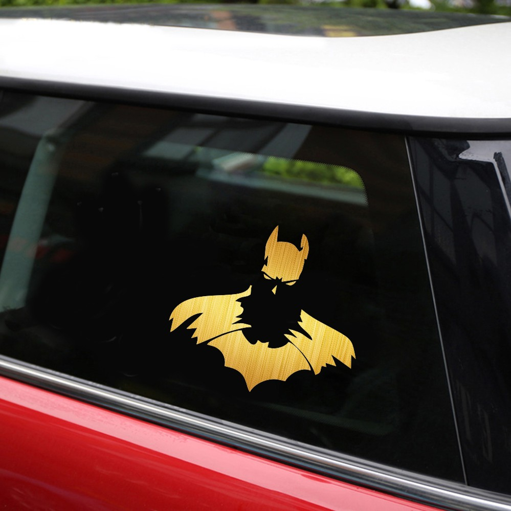 Cool batman car stickers 1211cm batman dc dark knight car window vinyl decal sticker car styling diy car sticker in car stickers from automobiles