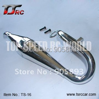 Exhaust Pipe/Tuned Pipe for 1/5th RC Gas Model Car/for FG Truck,FG Big Monster , Free shipping!!