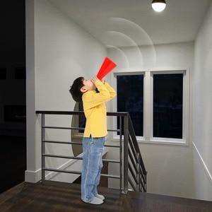 Image 4 - Лампа с датчиком движения 85 265 в движение тела Авто включение/выключение движения/звуковой датчик светильник 3 Вт 5 Вт 7 Вт 9 Вт лестница безопасности Nachtlampje