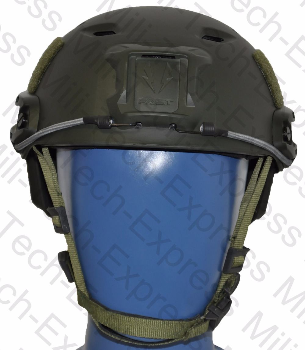 FAST OD BJ High Cut Style Vented Airsoft Tactical Helmet / Ops Core Style Base Jump Training Helmet / FAST Air Soft Helmet fast aor1 pj carbon style vented airsoft tactical helmet ops core style high cut training helmet fast ballistic style helmet