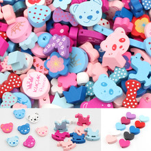 Variety Natural Wood Beads Handmade Spacer Loose Bead for Necklace Bracelet Jewelry Making Wooden Beads Toys handmade wood triangle bead necklace