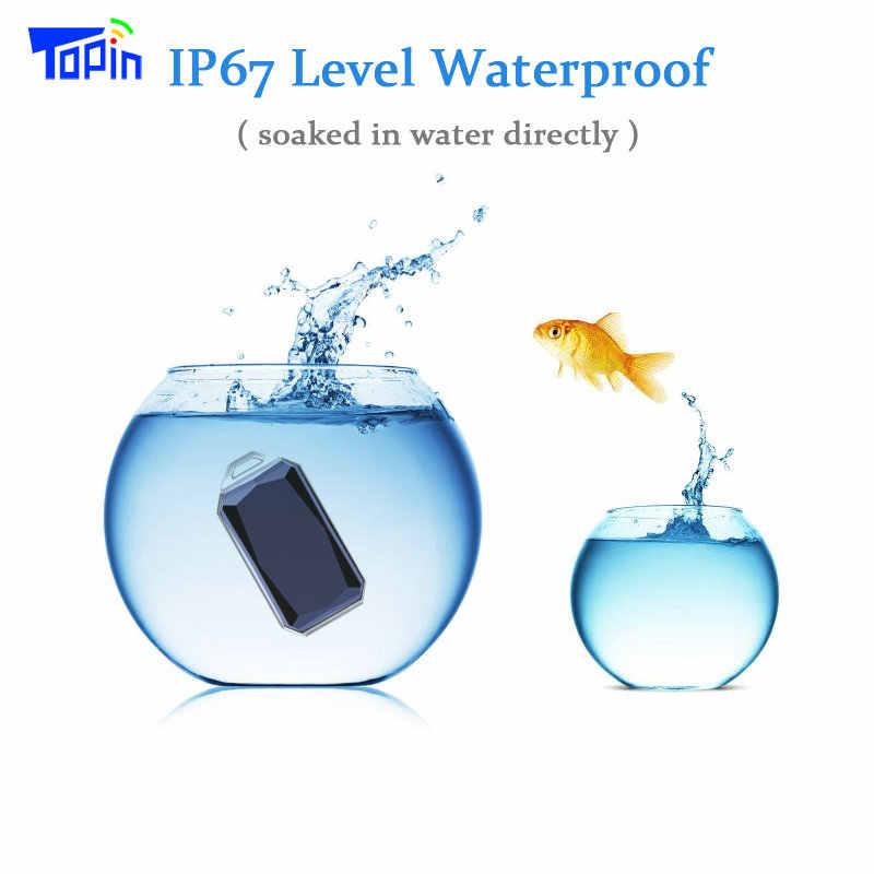 新製品 IP67 防水ファッションジェムストーンペンダント GSM AGPS Wifi LBS SOS ミニ GPS トラッカーロケータ子供の学生の車