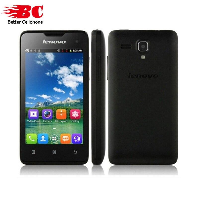 Original 4 Lenovo A396 SC7730 Quad Core 1 2GHZ Android 2 3 Smartphone GSM WCDM Dual