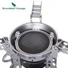 Boundless Voyage 3800 Вт газовая плита Складная газовая печь для пикника на открытом воздухе плита для готовки кемпинга кухонная посуда BV1014 - 6