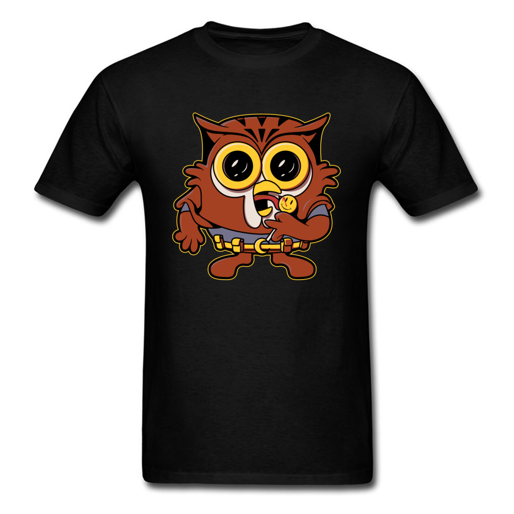 Mr Night Owl Tshirts Street Style Rife O-Neck 100% Cotton T Shirt Family Top T-shirts For Students Father Day On Discount 2018