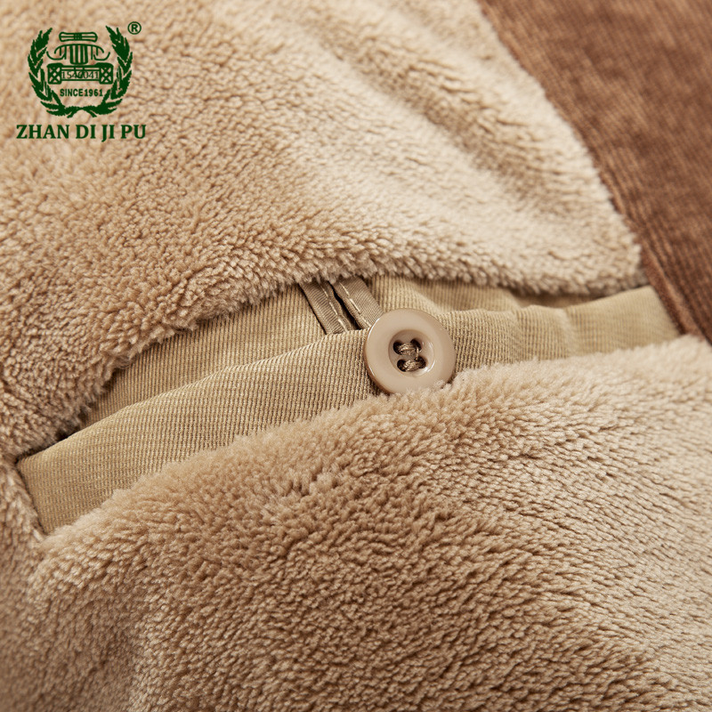 4b9bf7ad3e00 ... 2018 Men s winter thicken warm hooded casual brand army green jacket  coat man cotton afs jeep ...