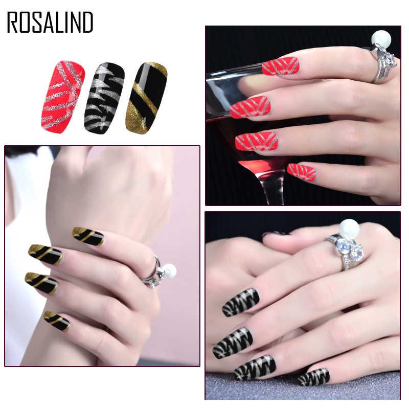 Rosalind 5 Ml Bán Chạy Gel Sơn Mài Nguyên Chất Màu UV Gel Làm Móng Tự Làm Móng Tay Nghệ Thuật Gel Thiết Kế Ba Lan Vẽ Móng gel Màu Họa Tiết