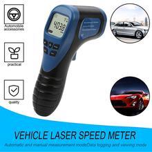 Автомобильный эксклюзивный Бесконтактный измеритель оборотов в минуту, фонарь, стильный внешний измеритель скорости, спидометр, аккумулят...