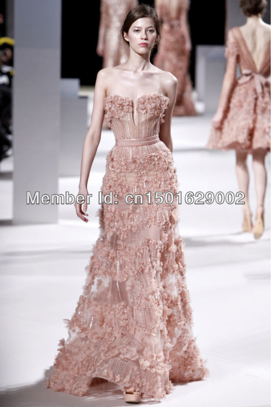 Online Buy Wholesale elie saab evening dress 2013 from China elie ...