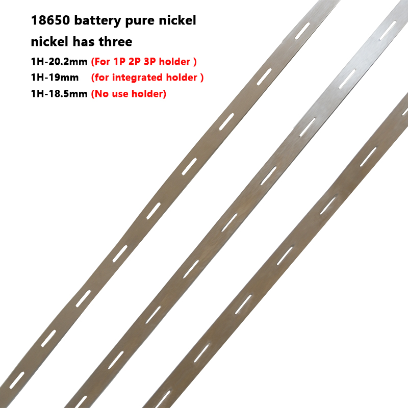 18650 Battery Pure Nickel Cylindrical LiFePo4 LiMn2O4 LiCoO2 Cell Connect The Nickel Belt 18650 Nickel Bus Bar