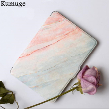 Fashion Marble Case for Amazon Kindle Paperwhite 1/2/3 Ultra Slim PU Leather Tablets e-Books Case 6
