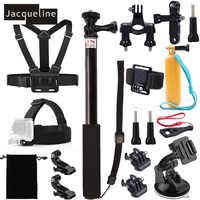 Жаклин для Интимные аксессуары комплект для GoPro Hero 6 сеанса 5 герой 4/3 +/3/2 для SJCAM sj5000 для EKEN H9 для Yi Action Cam