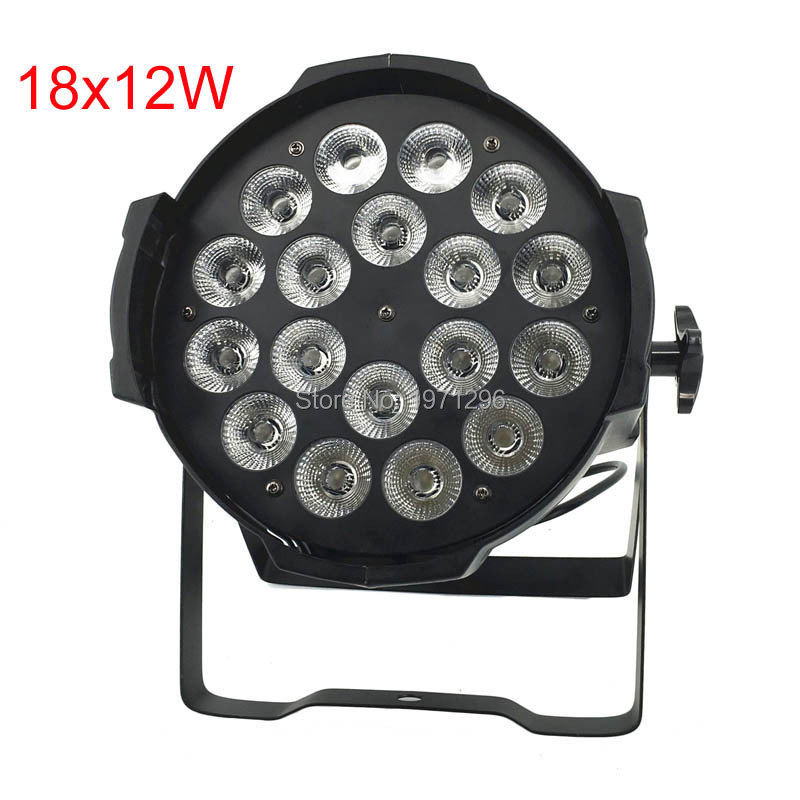 Fast Delivery HOT LED Par 18x12W RGBW 4IN1 Light Stage Uplighting chandelier Effect Lights for Disco DJ Party Show applications of dendrimers in drug delivery