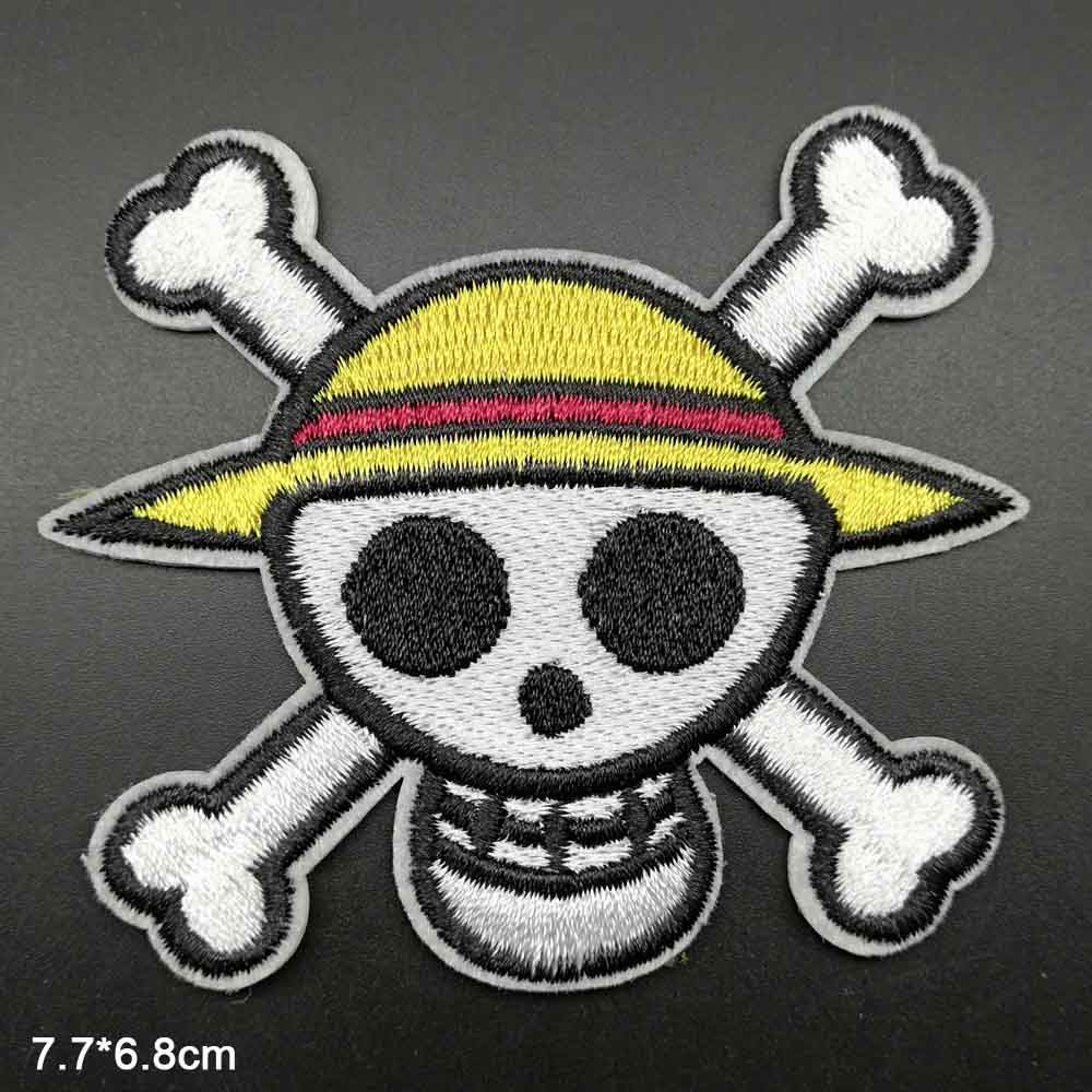 "E19 Two Anime Boys Men 6/"" Embroidery Iron-on Custom Patch"