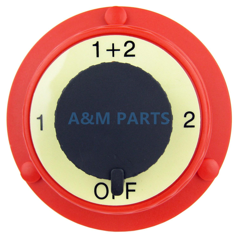 Marine font b Battery b font Switch Electrical Dual font b Battery b font Isolator Selector