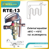 RTE 13 Thermostatic Expansion Valves With SELECTIVE THERMOSTATIC CHARGES And DIAPHRAGM DESIGN