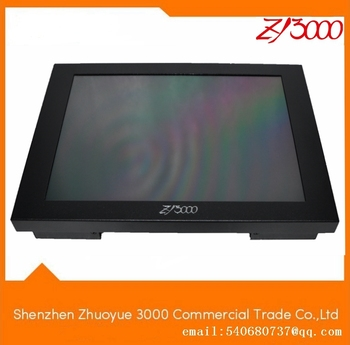10inch TFT led metla casing VGA hdmi av usb dc12 multi input open frame 4 wire USB RS232 resistiveTouch Screen  Monitor With pen