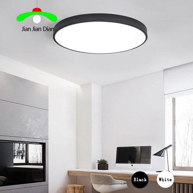 US $68.0 |Ultradünne Led deckenleuchten runden licht dimmbare LED  wohnzimmerlampe moderne einfache schlafzimmer lampe esszimmer deckenleuchte  in ...