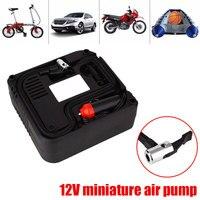 Portable 12V Car Pump Air Pump Electric Air Compressor Tyre Motorcycle Motor Car Electric Air Compressor Tire Mini