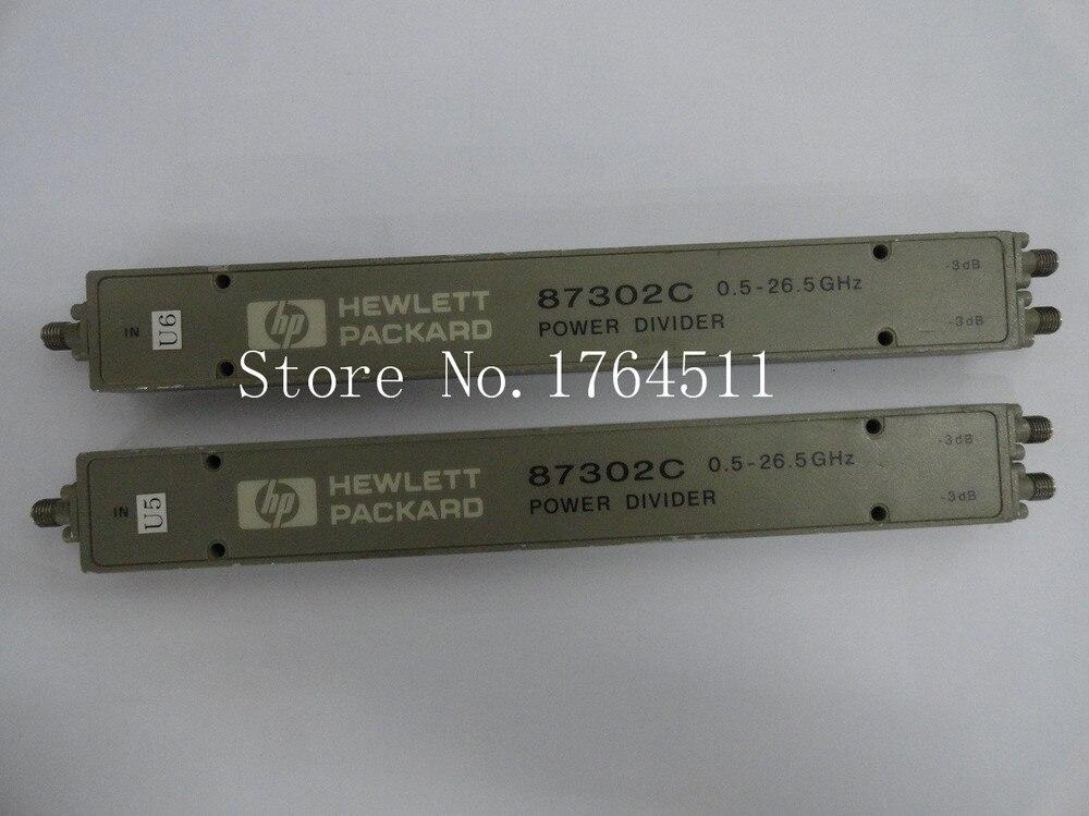 [BELLA] Original 87302C 0.5-26.5GHz A Two RF Power Divider SMA