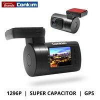 Upgrade Mini 0806S Car DVR Dash Camera 1296P HDR Ambarella A7 OV4689 GPS ADAS Low Voltage