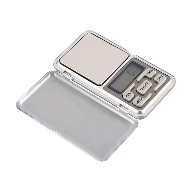 Mini Digital Pocket Scale 1000g 0.1g Precision g/tl/oz/ct/gn Weight Measuring for Kitchen Jewellery Gold Tare Weighing 4