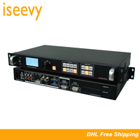 ISEEVY LED Video Processor Support DVI HDMI VGA AV Input for Max 2304x1152@60HZ LED Video Wall Display