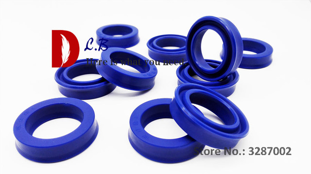 US $12 0 |U cup seal 16X32X8 / 25X40X7 PU U Ring UN Single Lip Hydraulic  cylinder piston and rod seal Polyurethane (PU) Rubber-in Gaskets from Home