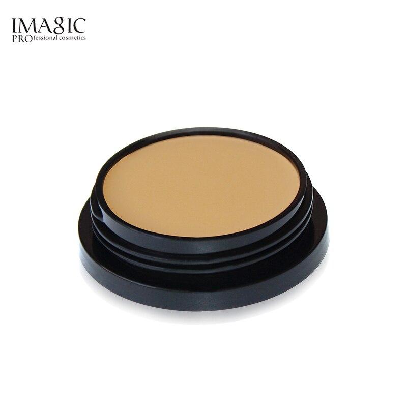 Pro Foundation Makeup Full Coverage Contour Face Concealer Base Primer Hide Blemish Oil-Control Brand Bronzer Concealer Creamy
