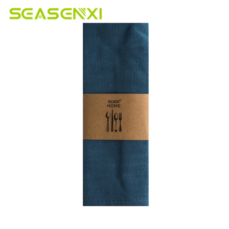 Home & Garden Cotton Linen Cloth Table Napkin Solid Home Wedding Party Kitchen Cup Dishes Napkins Table Decorative Handkerchief Towel 30x40cm Buy One Give One