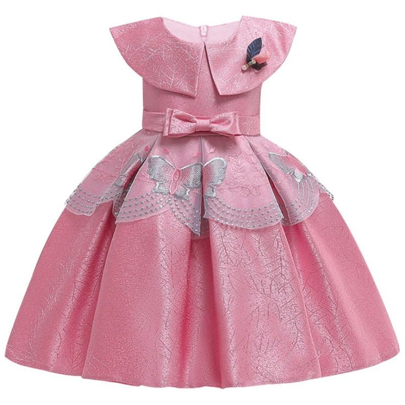Summer   Flower     Girls     Dresses   Kids Birthday Sleeveless Party   Dress   for   Girls   Infant Children Silk Tutu   Dress   for   Girl   Clothes