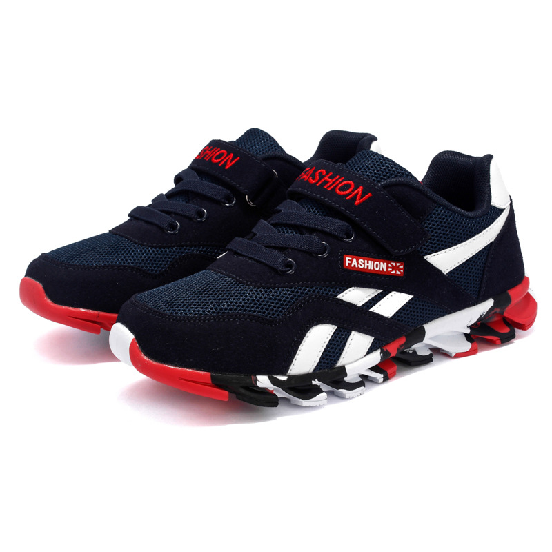 Size 26-39 Children Sport Casual Running Shoes 2017 Boys Sneakers Child Mesh Breathable Girl Sneakers Kids Leisure Trainers Shoe цена