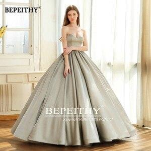 Image 5 - Bepeithy querida do vintage vestido de noite festa elegante 2020 brilho glitter tecido vestido baile vestidos de baile robe de soiree