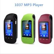 Clip bluetooth deporte mp3 player 8 gb hott 1037 podómetro bluetooth Radio FM w/Ranura Para Tarjeta TF Estéreo Reproductor de Música 1.8 LCD pantalla