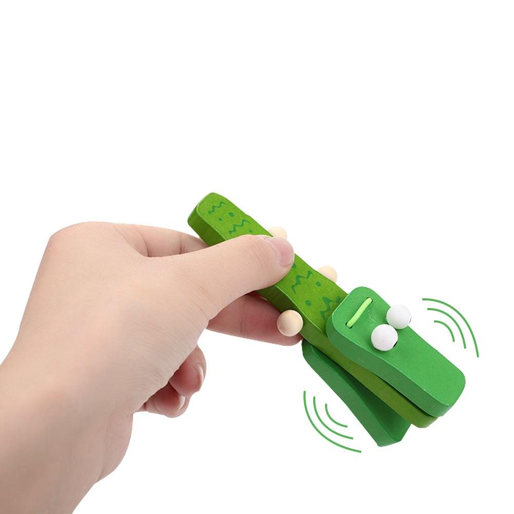 Деревянный зеленый музыкальный инструмент перкуссия сенсорного развития практика Красивая музыкальная игрушка безопасный материал развлечения Новинка