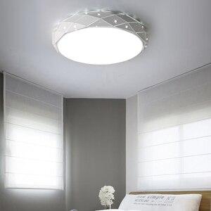 Image 4 - Yeni Modern LED tavan avizeler için avizeler oturma odası yatak odası mutfak halka avize aydınlatma Ac90 260V alüminyum fikstür
