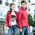 SoftFox 2016 winter duck down jacket women and man short coat parkas thickening Warm Clothes Full Sleeve High Quality Free Ship