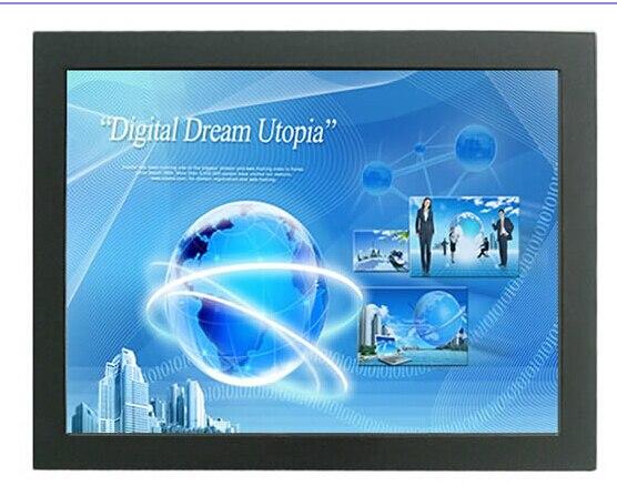 50 дюймов TFT LCD сенсорный экран металлический корпус монитор открытой рамки ик сенсорный монитор