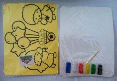 10 шт. / много, Своими руками игрушки, Цвет рисование песком комплект комплект для дети