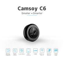Camsoy C6 Cookycam מיקרו WIFI מיני הקטן ביותר מצלמה HD 720P עם ראיית לילה Ip WIFI מצלמת אבטחת בית וידאו למצלמות נסתר
