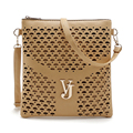 Vintage Women Bag Hollow Out Crossbody Bags PU Leather Small Shoulder Bag Brand Women Messenger Bags Bolsas femininas Sac A Main