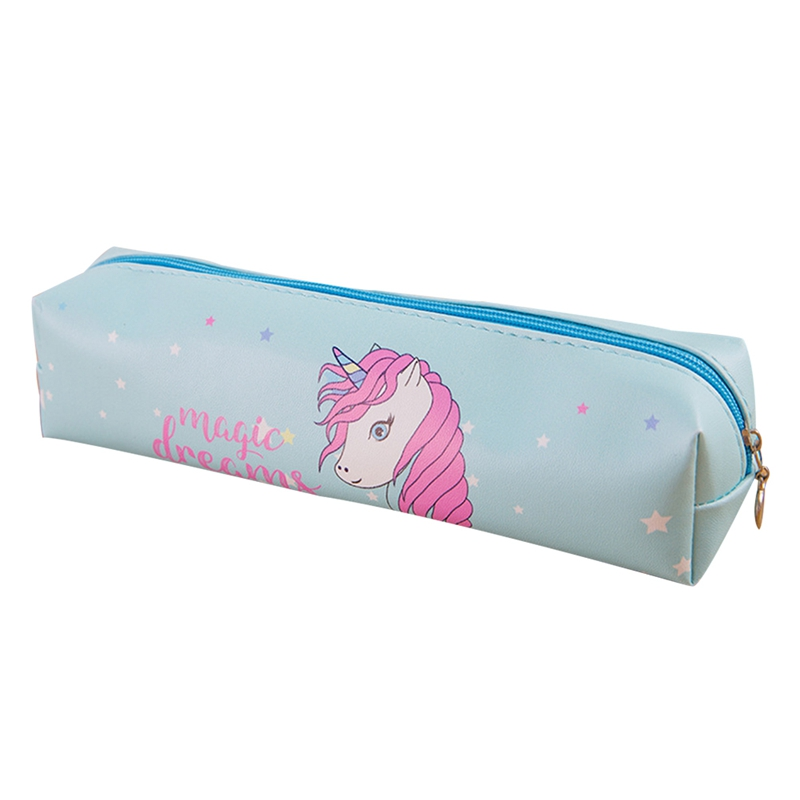 Luggage & Bags Cute Cartoon Unicorn Fabric Canvas Case Animal Box Flower Student Stationery Pouch School Supplies