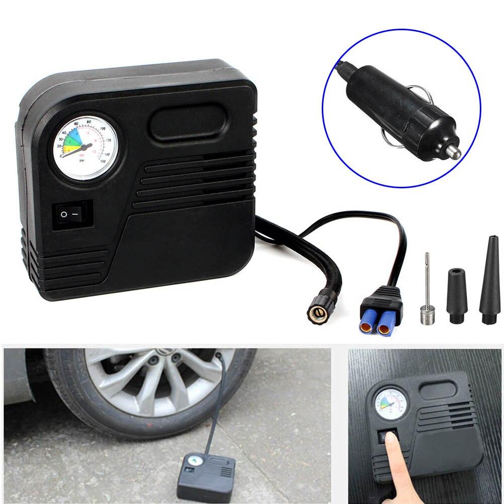 12V 150PSI Car Lighter Auto Electric Pump Air Compressor Tyre Tire Inflator Tool CSL2017 ...