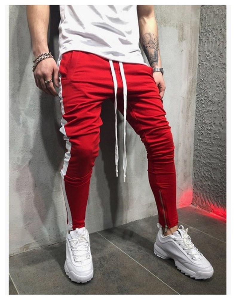 2019 Spring Male Side Stripe High Street  1