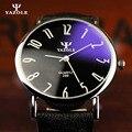Yazole hombres reloj de cuarzo de 2017 top famosa marca de lujo relojes hombre reloj de pulsera de cuero reloj de pulsera relojes de vestir moda de kol saati