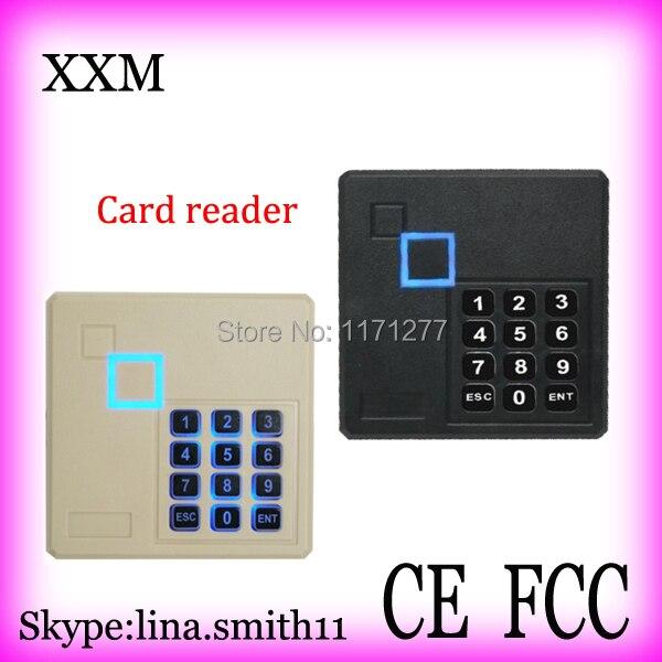 Proximity Card Reader RFID smart card reader,125KHZ ID card reader X009 new id 10 125khz em4100 rfid proximity id cards smart card usb reader