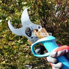New KH-08 (can cut 4.5 cm) Electric Pruning Shears Rechargeable Fruit Tree Pruning Shears Garden Gardening Scissors DC40V 0-45mm
