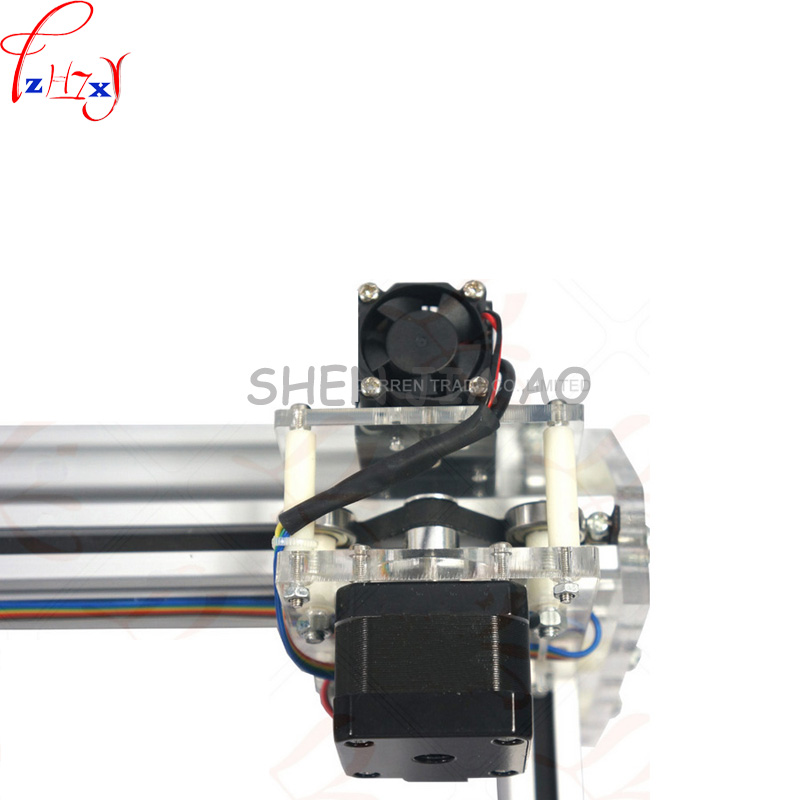 1pc 1.5W DIY mini laser engraving machine 1500mW Desktop DIY Laser Engraver Engraving Machine Picture CNC Printer DC12V - 6