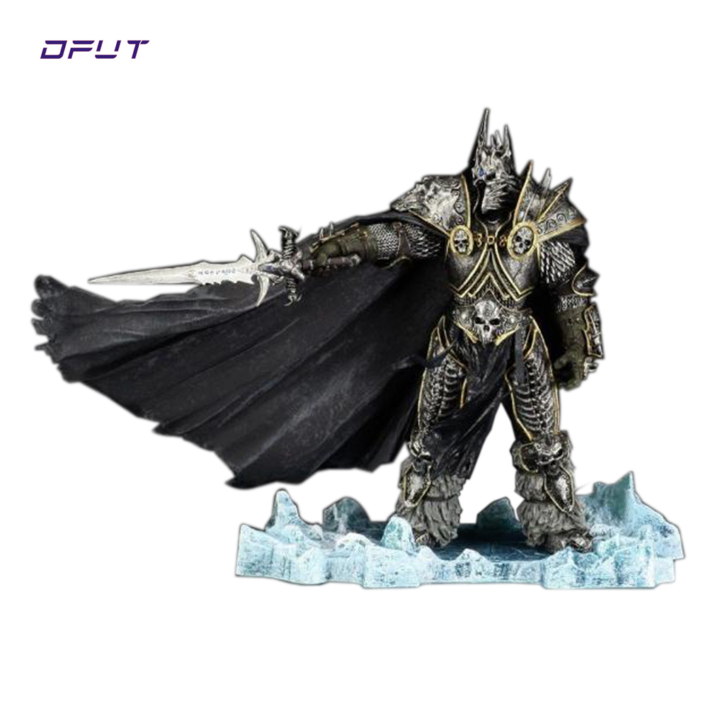 HOT WOW FALL OF THE LICH KING ARTHAS ACTION FIGURE Model Toy 21CM Free shipping for childre gift Dota 2 valve studio orchestra the dota 2 official soundtrack