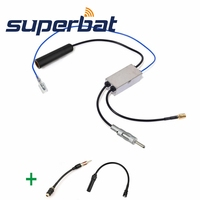 Superbat DAB Car Radio Antenna FM AM To DAB FM AM Aerial Converter Splitter With RAST